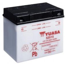 Аккумулятор GS YUASA  12В 25 Ач, 130 А (52515 BMW), обратная полярность ⁶