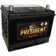 Аккумулятор SUPER PRESIDENT  55 Ач, 550 А (85-550), обратная полярность, нижний борт ¹