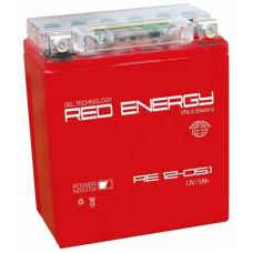 Аккумулятор RED ENERGY RE 12В 5 Ач, 65 А (RE 1205.1) GEL ⁶