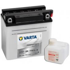 Аккумулятор VARTA POWERSPORTS FP 12В 7 Ач, 74 А (507012004), обратная полярность ²
