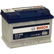 Аккумулятор BOSCH S4 Silver 74 Ач, 680 А (574012), обратная полярность ¹