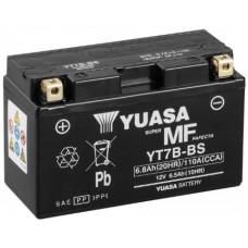 Аккумулятор GS YUASA  12В 6 Ач, 120 А (YT7B-BS7B-4), прямая полярность ⁶