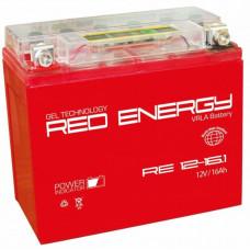 Аккумулятор RED ENERGY RE 12В 16 Ач, 230 А (RE 1216.1) GEL ⁶