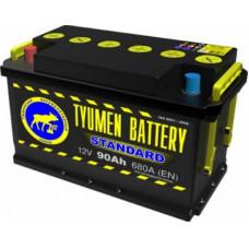 Аккумулятор TYUMEN BATTERY (ТЮМЕНЬ) STANDARD 90 Ач, 680 А Ca/Ca, прямая полярность ¹