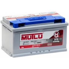 Аккумулятор MUTLU SFB M3 85 Ач, 800 А, низкий, обратная полярность ²