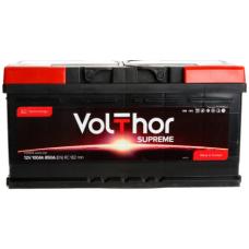 Аккумулятор VOLTHOR Supreme 100 Ач, 920 А, низкий, обратная полярность ¹