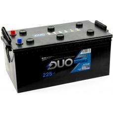 Аккумулятор DUO POWER  TT  225 Ач, 1550 А, европейская полярность, конусные клеммы ²