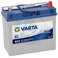 Аккумулятор VARTA Asia Blue Dynamic 45 Ач, 330 А (B32), обратная полярность, толстые клеммы ²