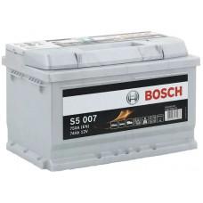 Аккумулятор BOSCH S5 74 Ач, 750 А, низкий, обратная полярность ²