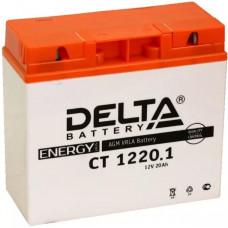 Аккумулятор DELTA CT 12В 20 Ач, 260 А (CT 1220.1), обратная полярность ⁶