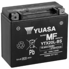 Аккумулятор GS YUASA  12В 18 Ач, 270 А (YTX20L-BS), обратная полярность ⁶