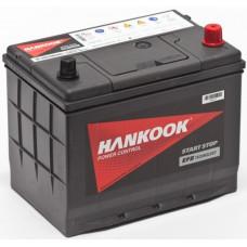 Аккумулятор HANKOOK Asia Plus 68 Ач, 730 А (100D26L) EFB, Start-Stop, обратная полярность, нижний борт ²