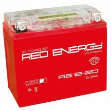 Аккумулятор RED ENERGY RE 12В 20 Ач, 250 А (RE 1220) GEL ⁶