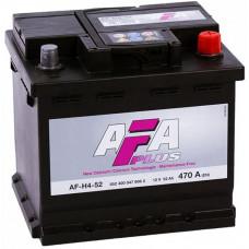 Аккумулятор AFA PLUS  52 Ач, 470 А, обратная полярность ¹