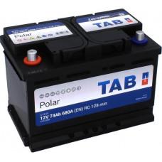 Аккумулятор TAB Polar 74 Ач, 680 А (57413), прямая полярность ²