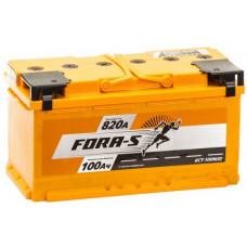 Аккумулятор FORA-S  100 Ач, 790 А, обратная полярность ²