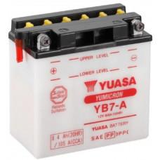 Аккумулятор GS YUASA  12В 8 Ач (YB7-A), прямая полярность ⁶