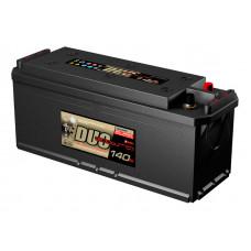 Аккумулятор DUO EXTRA TT 140 Ач, 1000 А, европейская полярность, конусные клеммы ²