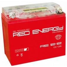 Аккумулятор RED ENERGY RE 12В 12 Ач, 190 А (RE 1212) GEL ⁶
