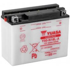 Аккумулятор GS YUASA  12В 20 Ач (YT7B-BS7B-4), обратная полярность ⁶