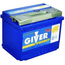 Аккумулятор GIVER ENERGY 65 Ач, 620 А, обратная полярность ²