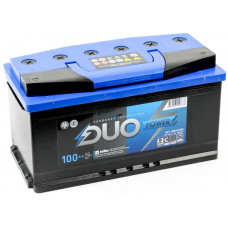 Аккумулятор DUO POWER  100 Ач, 900 А, прямая полярность ²