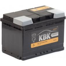 Аккумулятор KBK  70 Ач, 640 А, обратная полярность ²