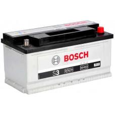 Аккумулятор BOSCH S3 88 Ач, 740 А, низкий, обратная полярность ²