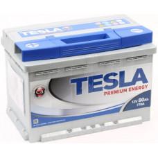 Аккумулятор TESLA PREMIUM ENERGY 80 Ач, 770 А, прямая полярность ²
