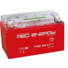 Аккумулятор RED ENERGY RE 12В 7 Ач, 105 А (RE 1207) GEL ⁶