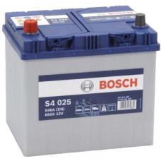 Аккумулятор BOSCH Asia S4 Silver 60 Ач, 540 А (560410), обратная полярность ¹