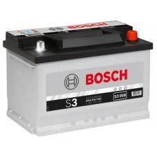 Аккумулятор BOSCH S3 70 Ач, 640 А, обратная полярность ²