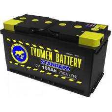 Аккумулятор TYUMEN BATTERY (ТЮМЕНЬ) STANDARD 100 Ач, 790 А Ca/Ca, обратная полярность ¹