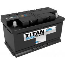 Аккумулятор TITAN Euro Silver 85 Ач, 800 А, низкий, обратная полярность ⁵