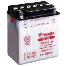 Аккумулятор GS YUASA  12В 14 Ач (YB14L-A), обратная полярность ⁶