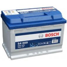 Аккумулятор BOSCH S4 Silver 74 Ач, 680 А (574013), прямая полярность ¹