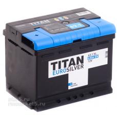 Аккумулятор TITAN Euro Silver 63 Ач, 630 А, прямая полярность ⁵