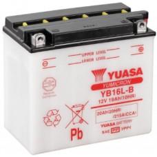 Аккумулятор GS YUASA  12В 16 Ач (YB16L-B), обратная полярность ⁶
