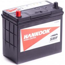 Аккумулятор HANKOOK Asia  48 Ач, 460 А (60B24L), обратная полярность, тонкие клеммы ²