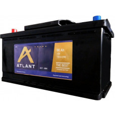 Аккумулятор ATLANT  90 Ач, 720 А, обратная полярность ¹