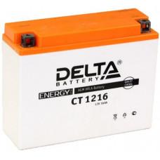 Аккумулятор DELTA CT 12В 16 Ач, 200 А (CT 1216), обратная полярность ⁶