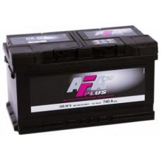 Аккумулятор AFA PLUS  80 Ач, 740 А, низкий, обратная полярность ¹