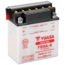 Аккумулятор GS YUASA  12В 9 Ач (YB9A-A), прямая полярность ⁶