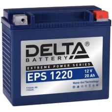 Аккумулятор DELTA EPS 12В 24 Ач, 350 А (EPS 1220), обратная полярность ⁶