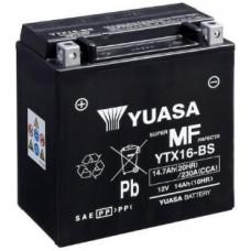 Аккумулятор GS YUASA  12В 14 Ач, 230 А (YTX16-BS), прямая полярность ⁶