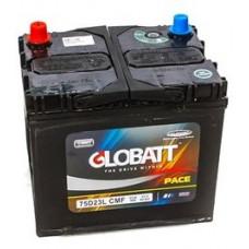 Аккумулятор GLOBATT Asia  65 Ач, 600 А (75D23R), прямая полярность, нижний борт, АКЦИЯ ¹