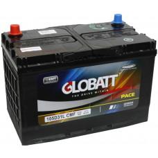 Аккумулятор GLOBATT Asia  90 Ач, 800 А (105D31R), прямая полярность, нижний борт, АКЦИЯ ¹
