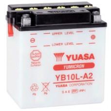 Аккумулятор GS YUASA  12В 11 Ач (YB10L-A2), обратная полярность, с электролитом ⁶