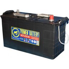 Аккумулятор TYUMEN BATTERY (ТЮМЕНЬ)  6В 215 Ач, 1000 А, сухо-заряженный, конусные клеммы ¹