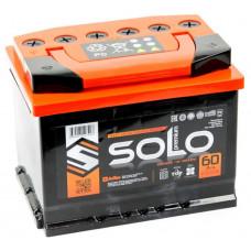 Аккумулятор SOLO PREMIUM 60 Ач, 600 А, обратная полярность ²